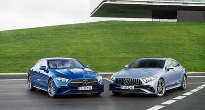 Mercedes CLS po liftingu – poprawki stylistyczne i nowa kierownica