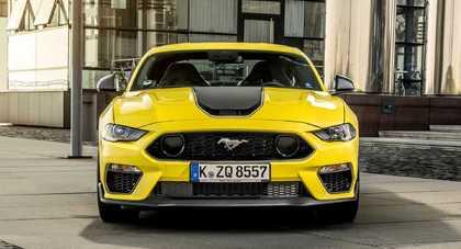 Ford Mustang Mach 1 wyląduje na europejskim rynku w limitowanej edycji