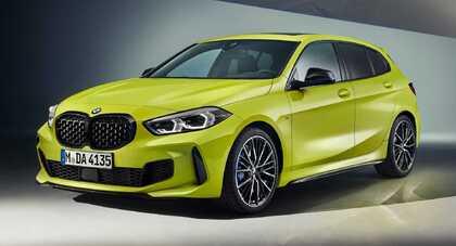 BMW M135i xDrive lepiej jeździ i brzmi oraz ma odjazdowy żółty lakier