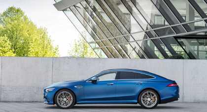Mercedes AMG GT 4-Door Coupe po liftingu z niewielkimi zmianami i nowymi kolorami