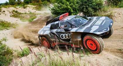 Audi RSQ E-Tron na Rajd Dakar