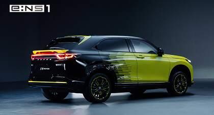 Honda e:NS1 i e:NP1 – nowe elektryczne SUV-y z rodziny e:N