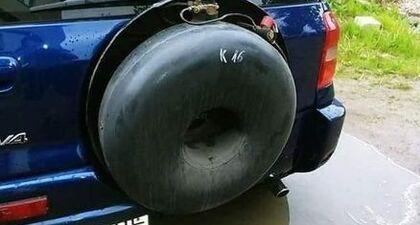 - Gdzie mam zamontować butlę❓ - Tradycyjnie, w kole poproszę❗  #ProfiAuto #butla #koło