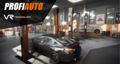 Rozwój projektu ProfiAuto Serwis VR