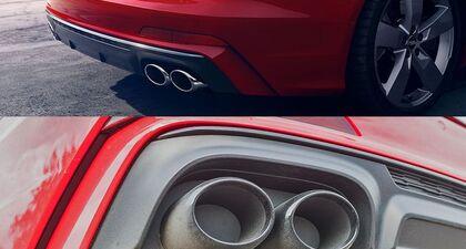 Dlaczego obecnie to tak wygląda❓  #ProfiAuto #DoradcaProfiAuto #wydech #Audi