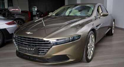 Aston Martin Lagonda Taraf trafił na sprzedaż. Cena? 1,17 mln dolarów