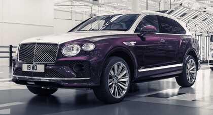 Bentley Bentayga Speed Russian Heritage i rosyjski balet