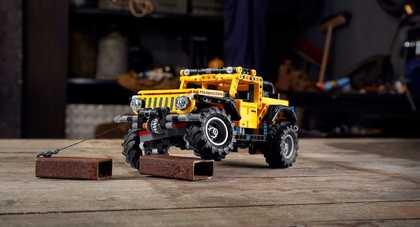 Jeep Wrangler Rubicon w zestawie LEGO
