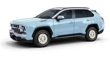 Mitsuoka Buddy, czyli Toyota RAV4 w przebraniu. Wreszcie wygląda intrygująco