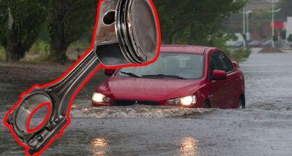 Co jeszcze ulegnie awarii po zalaniu samochodu wodą❓  Uszkodzona głowica i tłoki, a korbowód poszedł…