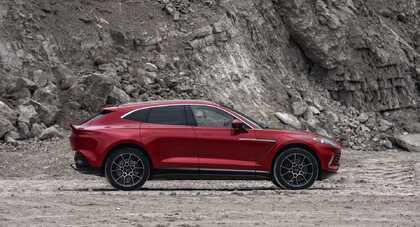 Aston Martin DBX nakręca sprzedaż brytyjskiej marce