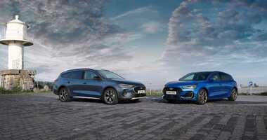 Ford Focus po liftingu – poprawiony wygląd, nowe multimedia i zelektryfikowane układy napędowe