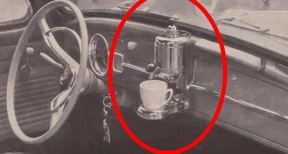 W 1959 r. opcją wyposażenia Volkswagena był ekspres do kawy.  Znasz inne, dziwne elementy…