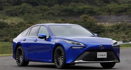 Toyota Mirai drugiej generacji z systemem oczyszczania powietrza