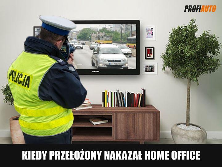 👉Pokaż nam, jak wygląda Twój home office❓  #ProfiAuto #HomeOffice #PracaZdalna #drogówka…