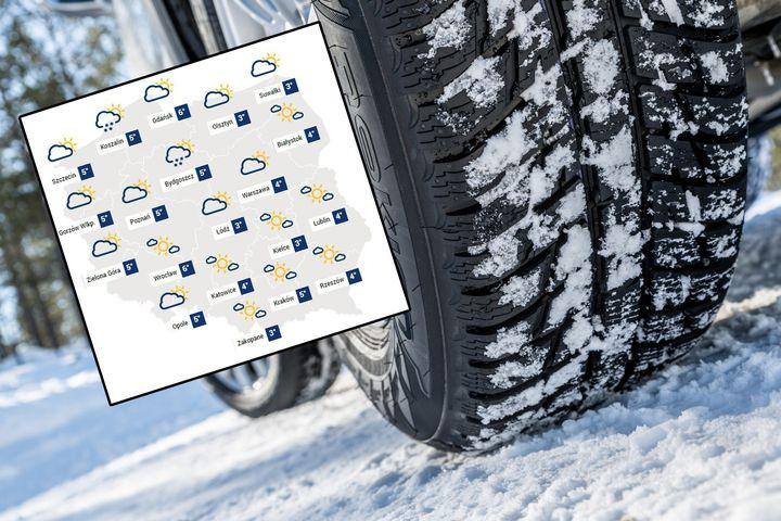 Temperatura od 3 do 6 st. C, w nocy mróz i możliwe lokalne opady śniegu – taką pogodą na weekend…